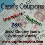 Capri Coupons – Whole Coupon Inserts Giveaway – CLOSED