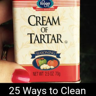 25 Ways to Clean with Cream of Tartar