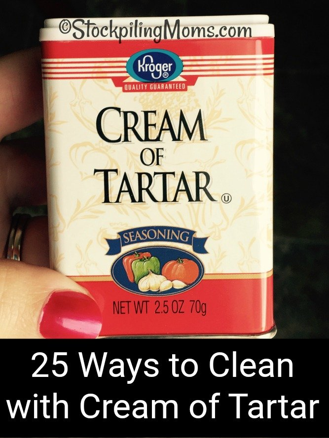 25 Ways to Clean with Cream of Tartar. This is a versatile spice that can actually serve as a double duty!