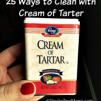 25 Ways to Clean with Cream of Tarter