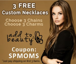 Get 3 Custom Necklaces for only $12.95 shipped!