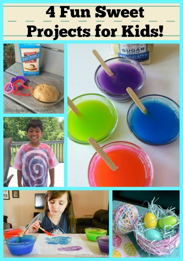 4 Fun Sweet Projects for Kids!