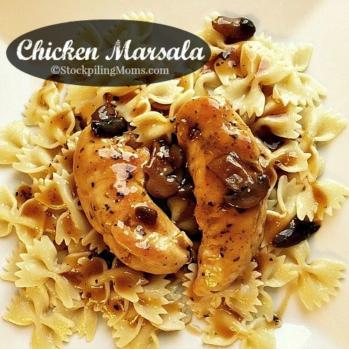Chicken Marsala is an excellent chicken recipe! Perfect for the whole family and you can make it 30 minutes.