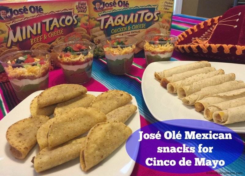 José Olé Mexican snacks for Cinco de Mayo