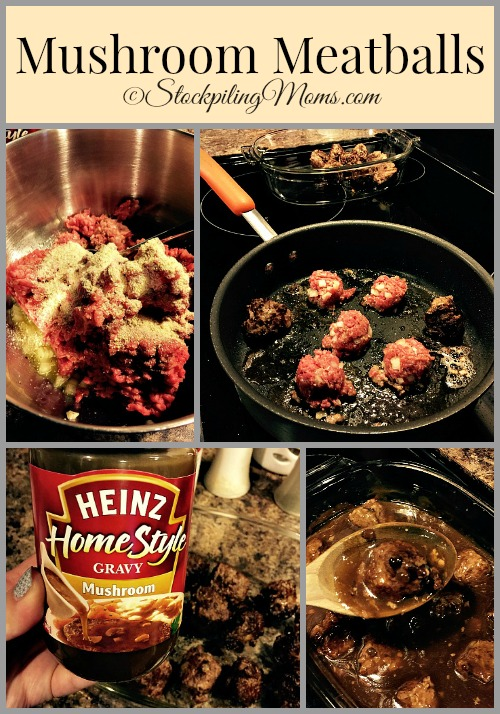 Mushroom Meatballs is a simple, comfort food recipe! The family will love this hearty dinner meal.