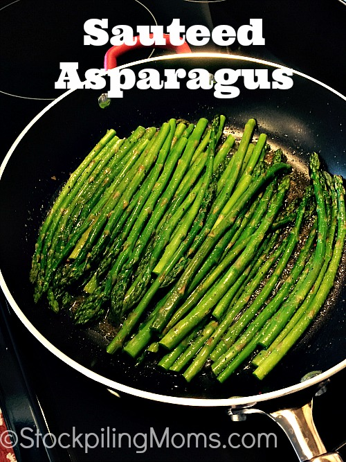 Sauteed Asparagus is a simple, clean eating side dish recipe!