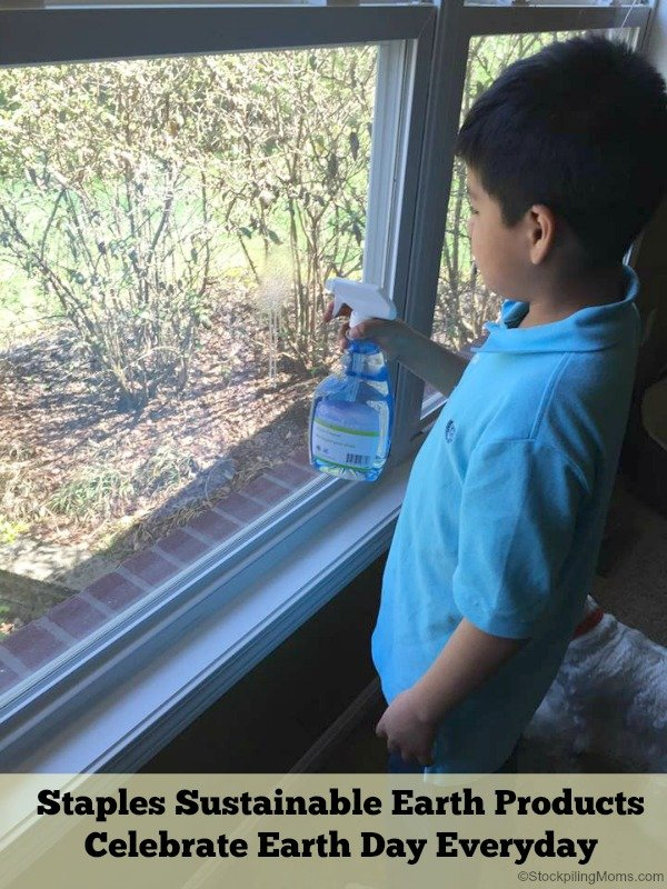 Staples Sustainable Earth Products - Celebrate Earth Day Everyday Cleaning Pic