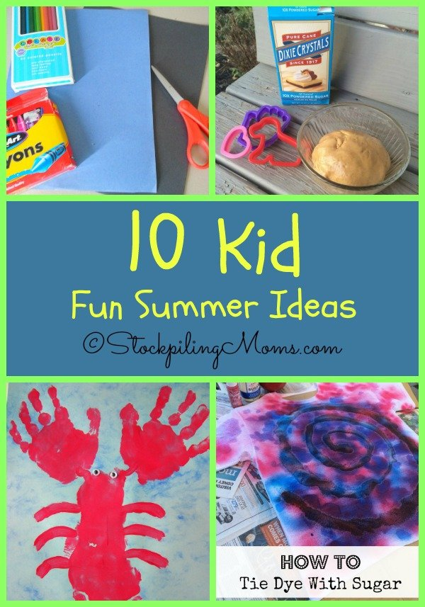 Here are 10 Kid Fun Summer Ideas to do this summer time that are sure to be a blast!
