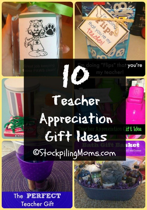 10 Teacher Appreciation Gift Ideas