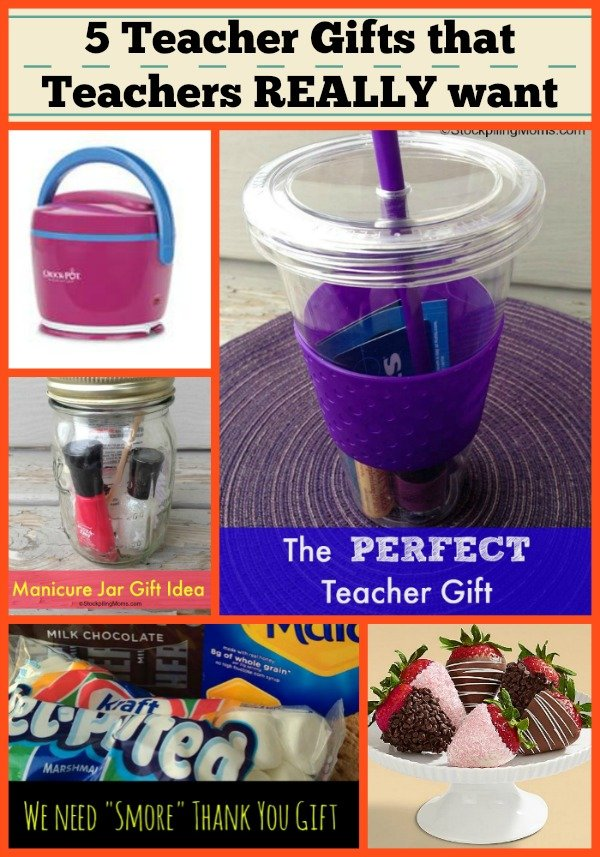 5 Teacher Gifts that Teachers really want