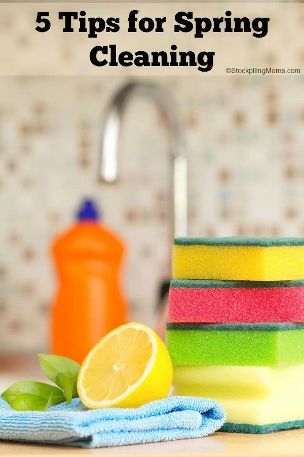 5 Tips for Easy Spring Cleaning