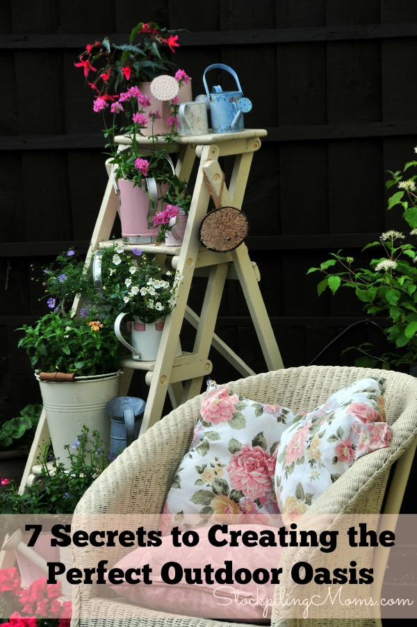 7 Secrets to Creating the Perfect Outdoor Oasis