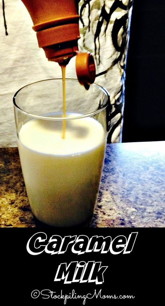 Caramel Milk is a perfect recipe for kids! Only 2 ingredients.