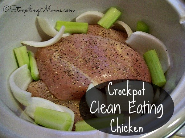 Crockpot clean eating chicken recipe crockpot clean eating chicken is a great recipe that is gluten free and makes homemade chicken forumfinder Images