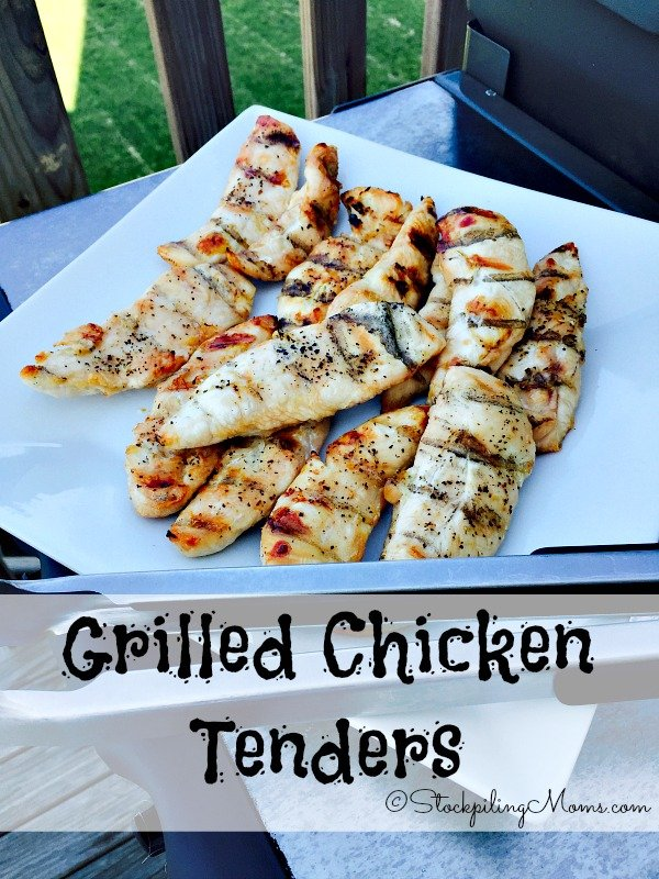 Grilled Chicken Tenders are so delicious and you can make them in as little as 15 minutes on the grill!
