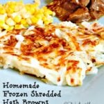 Homemade Frozen Shredded  Hash Browns2