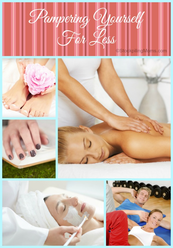 Pampering Yourself For Less - How you can get great facials, massages, manicures...for less by using Groupon.