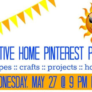 Join us for a Pinterest Party on 5/27/15 at 9 pm ET