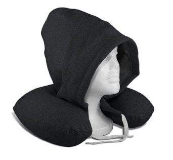 I am in love with this SilverRest Hooded Memory Foam U-Neck Travel Pillow w/ Carrying Case that is perfect for travel