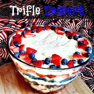 4th of July Trifle Dessert