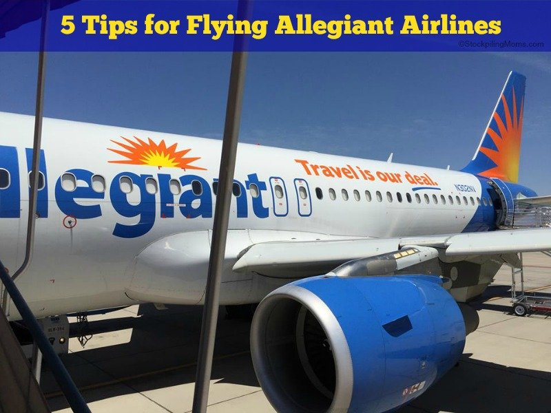 5 Tips for Flying Allegiant Airlines