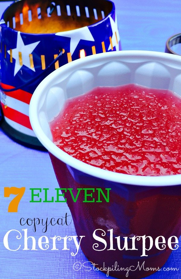 7 Eleven Copycat Cherry Slurpee Recipe is so easy to make at home! So now there is no need to go to the store and spend money on buying this delicious slurpee when you can make it right in your kitchen.