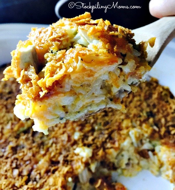 Crockpot Chicken Broccoli And Cheese Casserole Recipe Is Amazing Such An Easy Dinner To