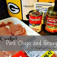 Crockpot Pork Chops and Gravy