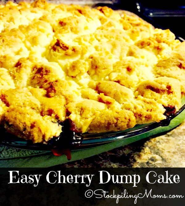 Easy Blueberry Cake With Cake Mix