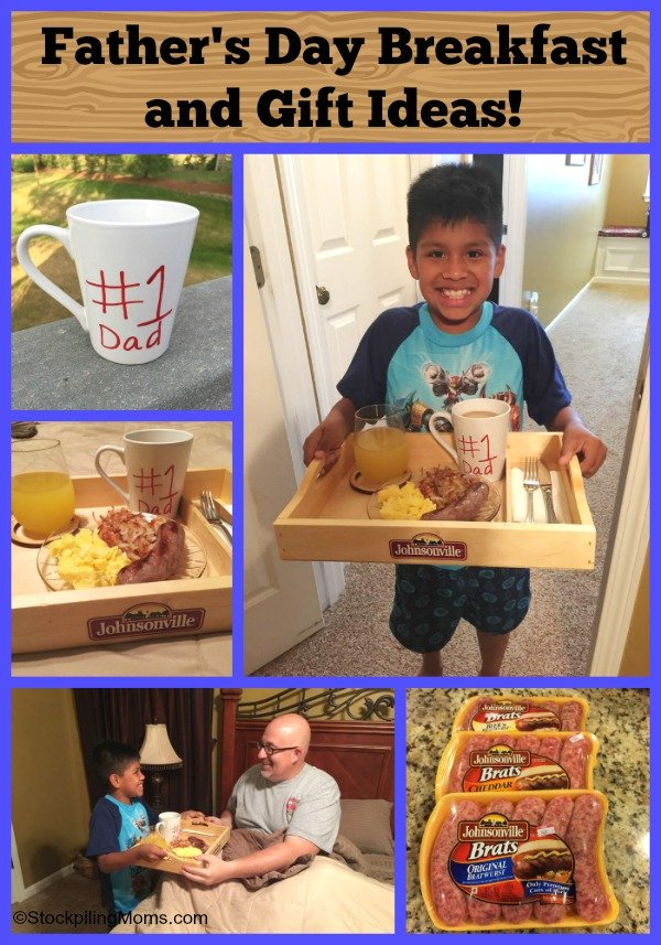 Father's Day Breakfast and Gift Ideas