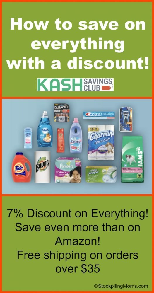 How to save on everything with a discount - Save Big Online with KashClub