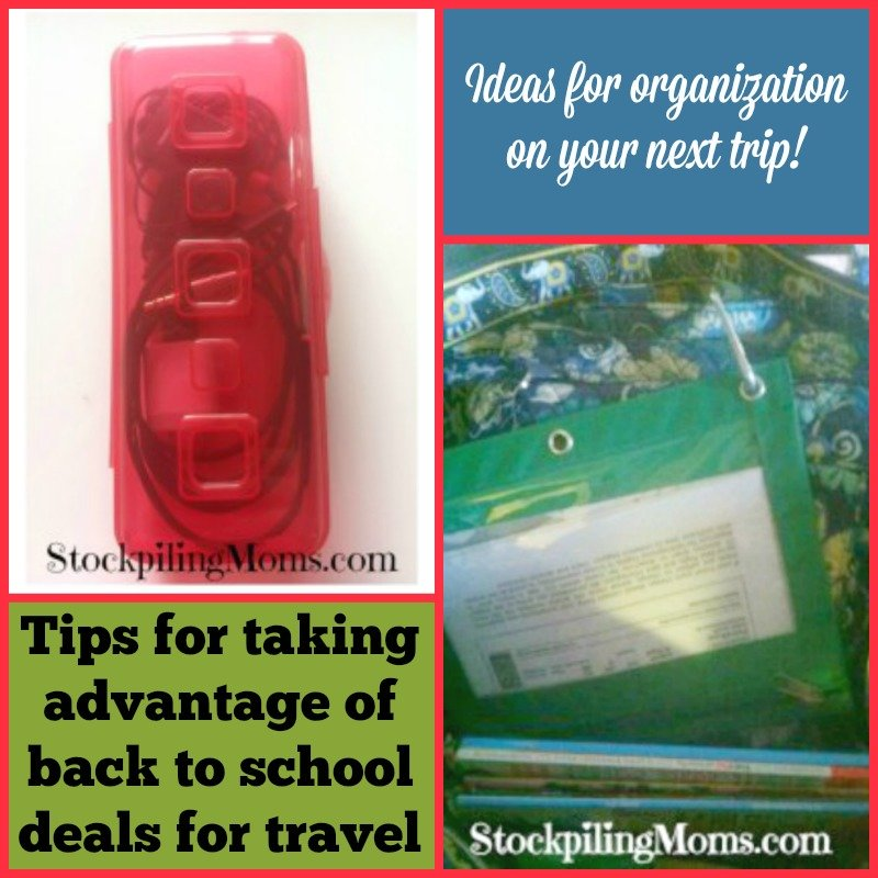 Tips for taking advantage of back to school deals for travel