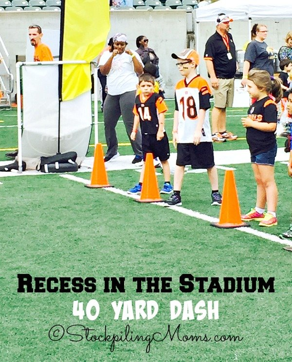 Recess in the Stadium Free Event held annually in Cincinnati to promote a healthy heart!