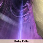 America's tallest and deepest underground waterfall