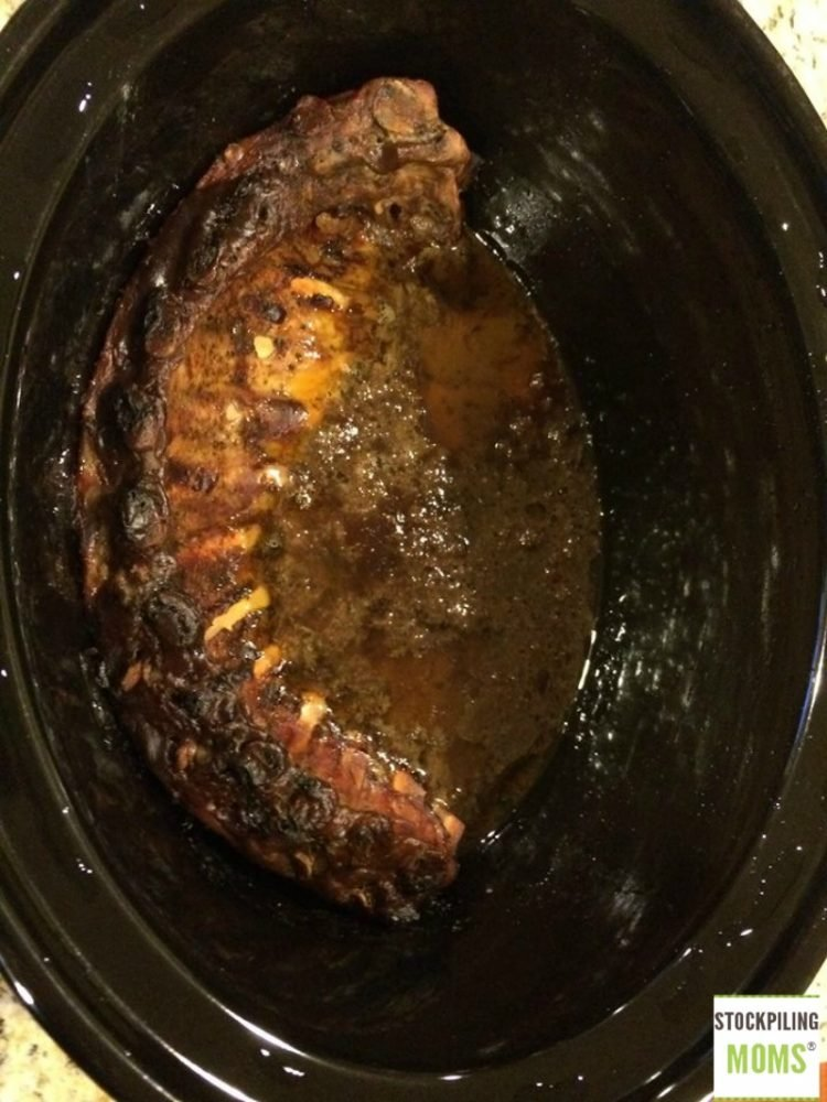 Crockpot Ribs - 3 ingredient, no fail, fall of the bone! Trust me once you make these you will never look back!