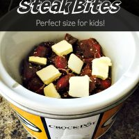 Crockpot Steak Bites