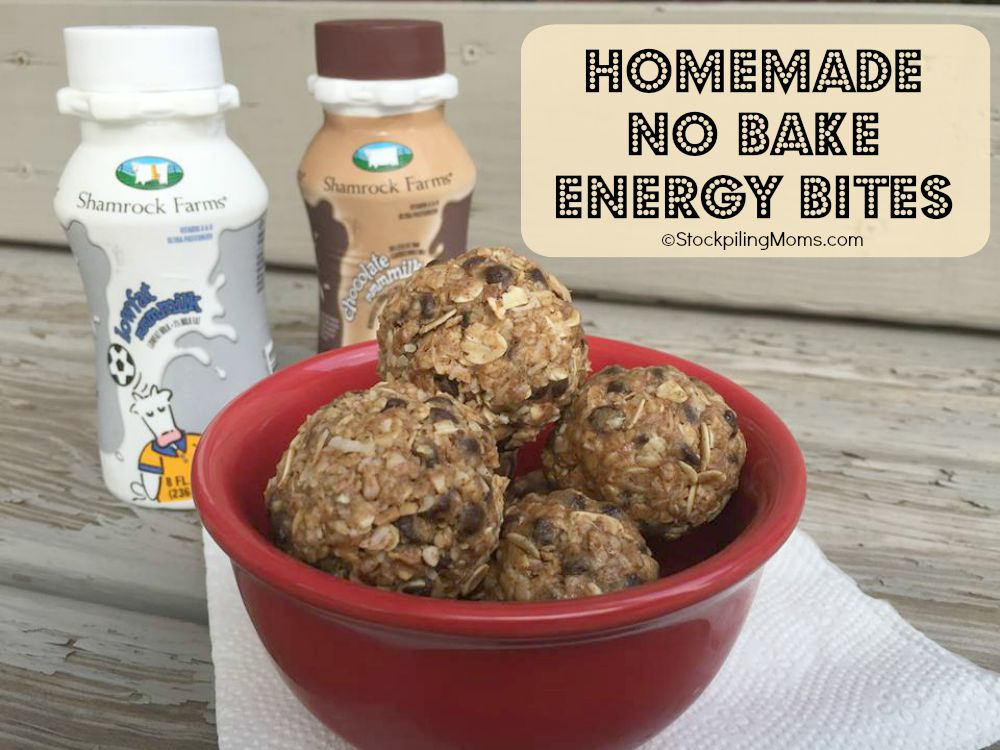 Homemade No Bake Energy Bites