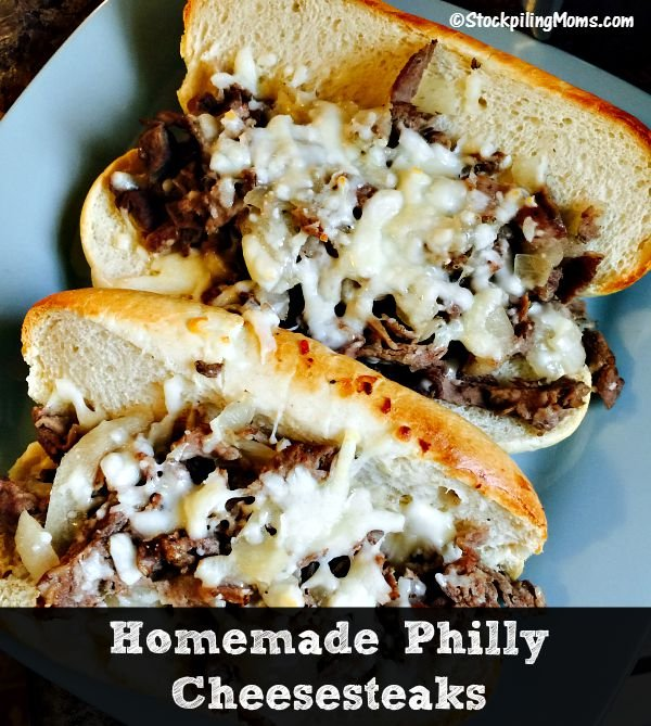 Homemade Philly Cheesesteaks3