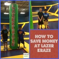 How To Save Money At Lazer Kraze