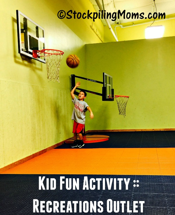 Kid Summer Fun Activity at Recreations Outlet