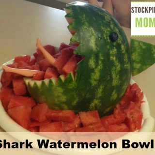 Shark Watermelon Bowl