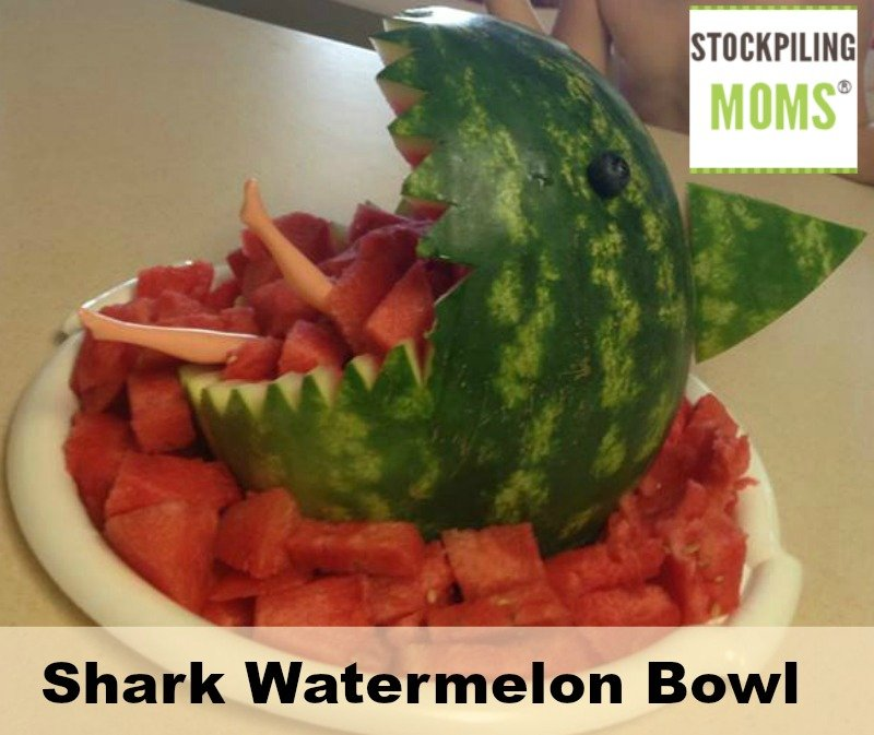 Shark Watermelon Bowl is perfect for Shark Week