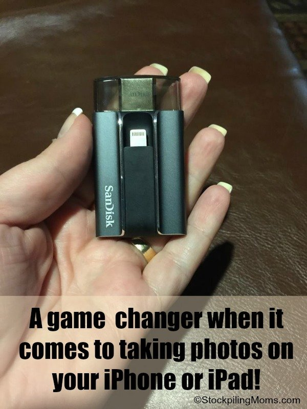 SanDisk iXpand Flash Drive Is a Game Changer when it come to transferring iPhone Photos