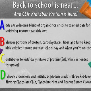Clif Kid Zbar Giveaway – CLOSED