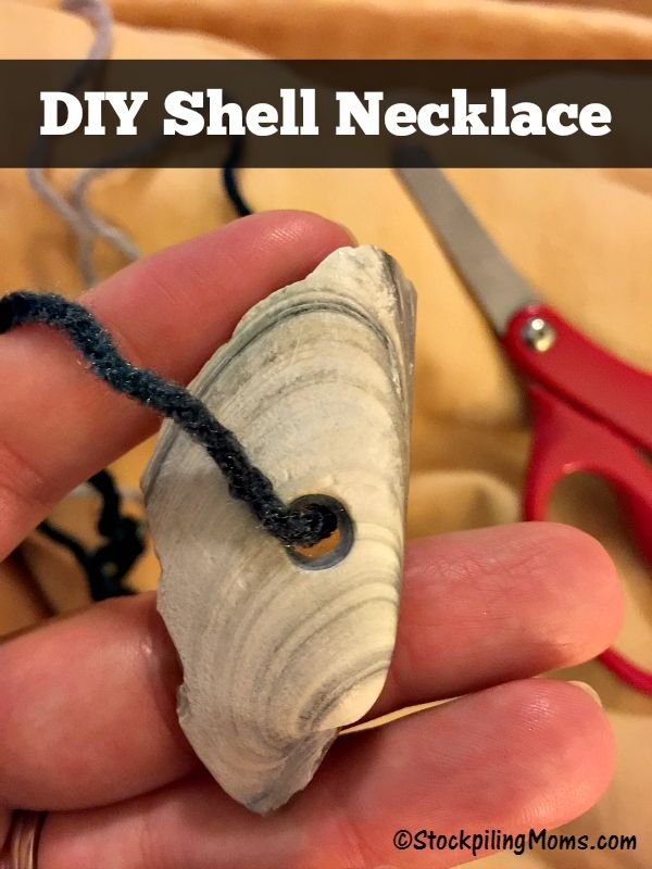 DIY Shell Necklace 2