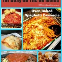 Easy Weeknight Meals for Busy On The Go Moms