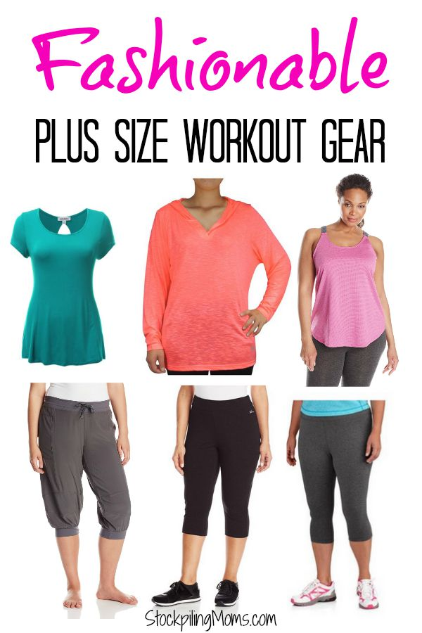 Plus Size Clothing. Every woman deserves to feel strong and bold in activewear that doesn't dig in, flap about or rub. Whether you're looking to lose weight or beat a personal best, don't be afraid to take back control of your fitness with tummy-taming plus size leggings and full figure sports bras.