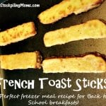 Homemade French Toast Sticks