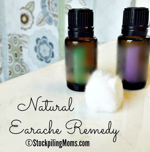 Natural Earache Remedy