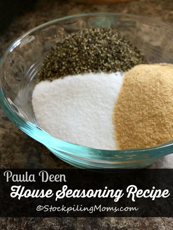 Paula Deen House Seasoning Recipe is simple to make with only 3 ingredients!